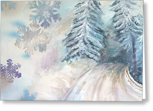 Frosted Secrets Of Winter Greeting Card