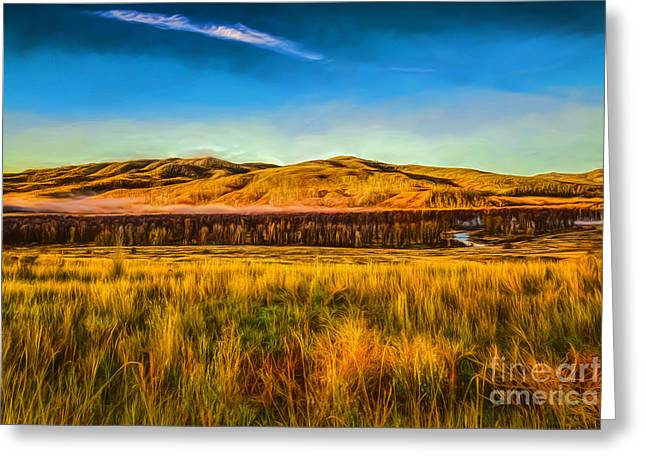 Frosty Morning On The Snake Greeting Card by Jon Burch Photography