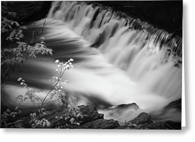 Frothy Falls Greeting Card