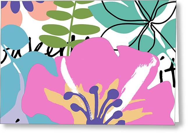 Frou Frou Greeting Card