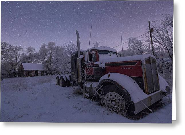 Frozen Big Rig Greeting Card