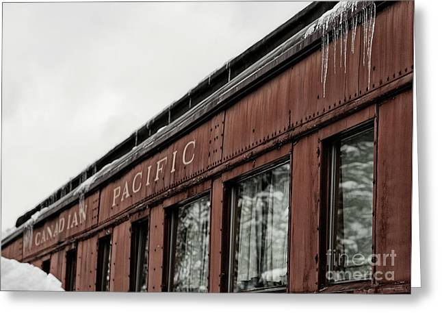 Greeting Card featuring the photograph Frozen In Time by Brad Allen Fine Art