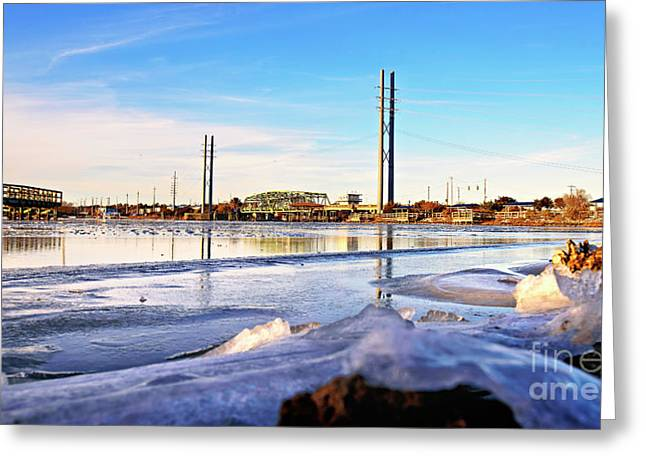 Greeting Card featuring the photograph Frozen In Time by DJA Images