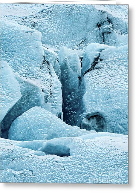 Frozen Patterns Greeting Card by Svetlana Sewell