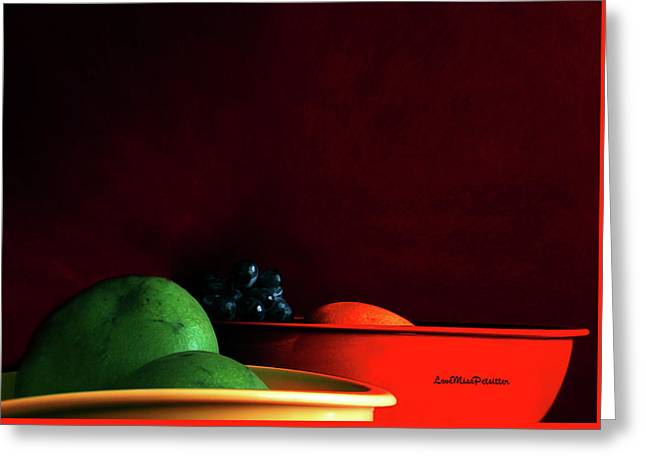 Fruit Art Photograph Greeting Card