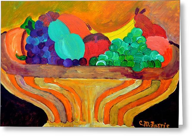 Fruit Bowl 1 Greeting Card