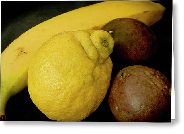 Fruit Close-up. Greeting Card by Elena Perelman