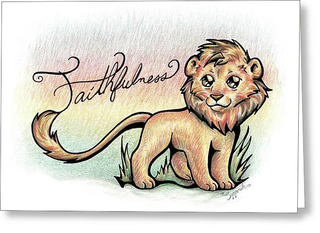 Fruit Of The Spirit Faithfulness Greeting Card