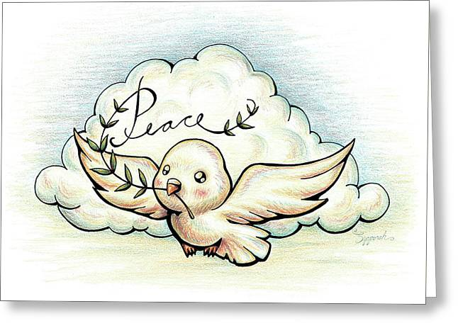 Fruit Of The Spirit Peace Greeting Card