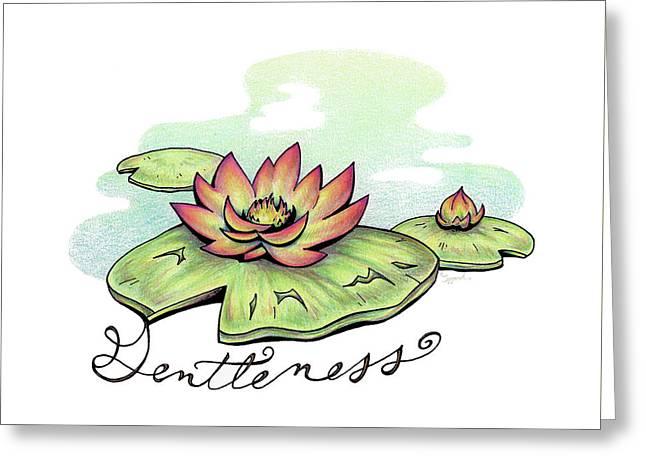 Fruit Of The Spirit Series 2 Gentleness Greeting Card