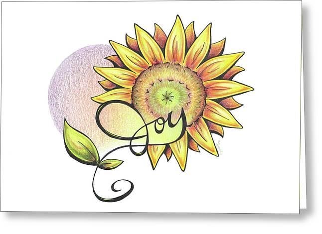 Fruit Of The Spirit Series 2 Joy Greeting Card