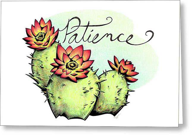 Fruit Of The Spirit Series 2 Patience Greeting Card