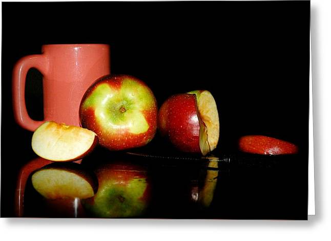 Fruit Tea Greeting Card