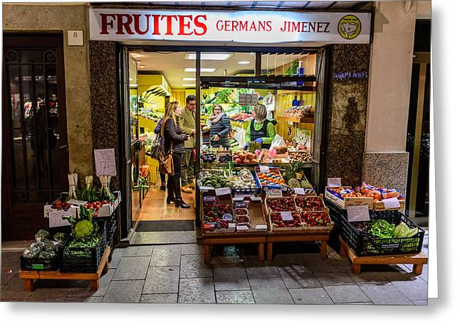 Fruites Greeting Card by Randy Scherkenbach