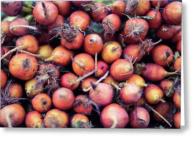 Greeting Card featuring the photograph Fruits And Vegetable At Farmer Market by Jingjits Photography