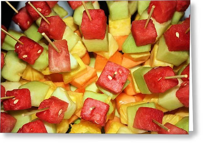 Fruity Greeting Card by Kristin Elmquist