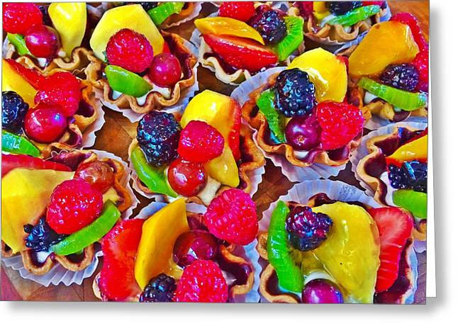 Fruity Masterpiece Greeting Card