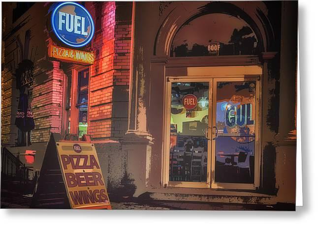 Fuel Greeting Card