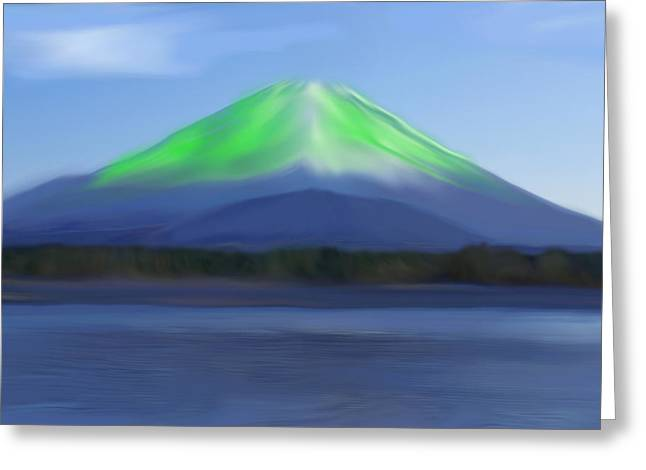 Fuji Greeting Card