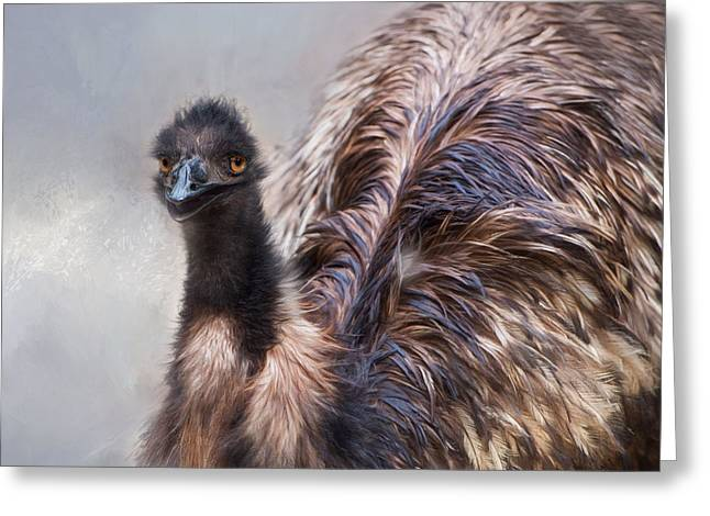 Greeting Card featuring the photograph Full Feather by Robin-Lee Vieira