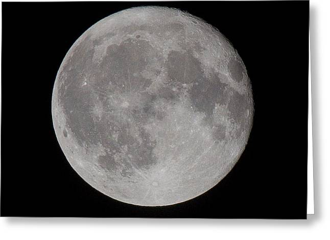 Full Moon Greeting Card by Andre Goncalves