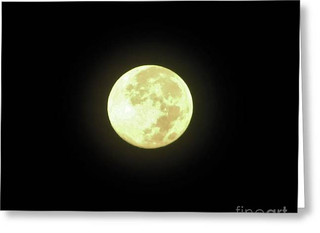 Full Moon August 2014 Greeting Card