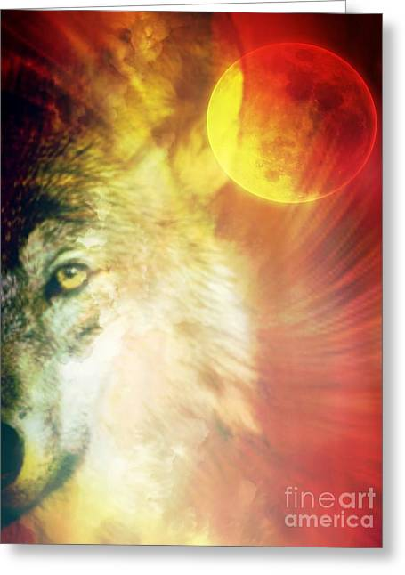 Full Moon Madness Greeting Card