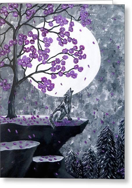 Full Moon Magic Greeting Card