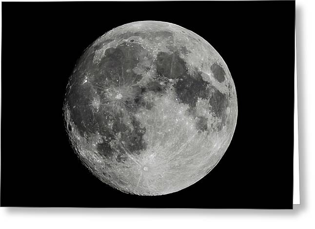 Full Moon Greeting Card by Paul Freidlund
