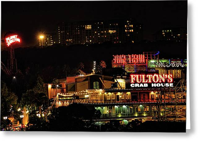 Fultons At Epcot Greeting Card by Pat Cook