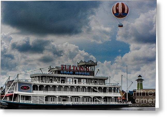 Fulton's Crab House Restaurant Greeting Card by Gary Keesler
