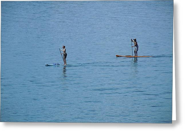 Greeting Card featuring the photograph Fun In The Sun At Lake Tahoe by Dan Whittemore