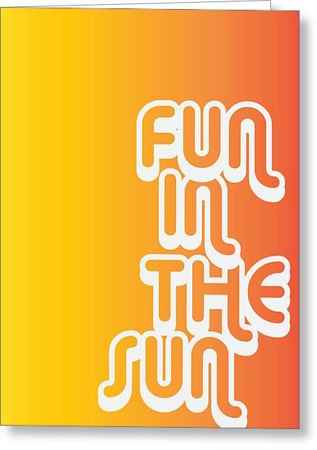 Fun In The Sun Greeting Card