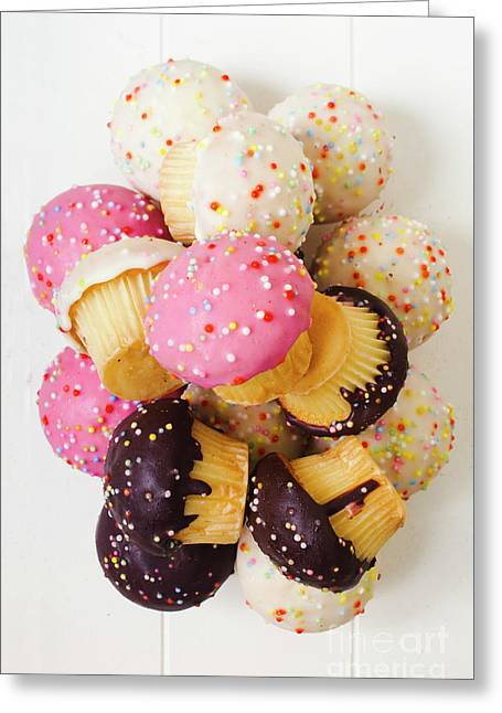 Fun Sweets Greeting Card by Jorgo Photography - Wall Art Gallery