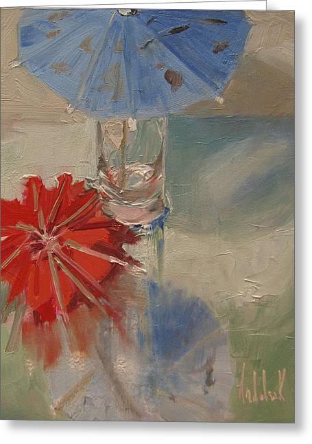 Funbrellas Greeting Card