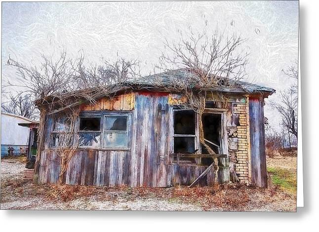 Funky Shack Greeting Card