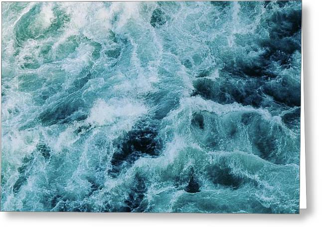 Furious Waters Greeting Card