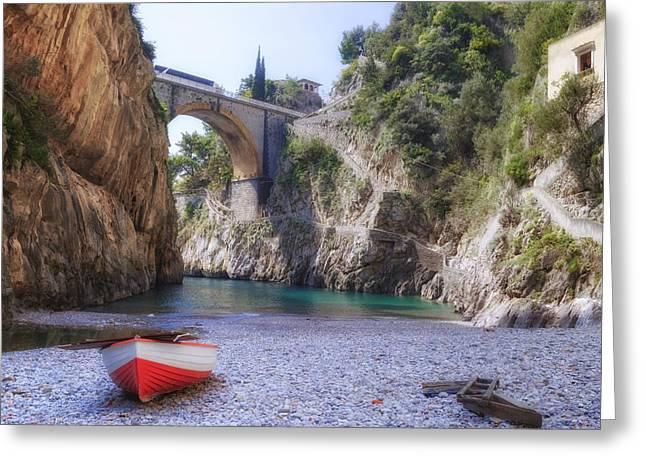 Furore - Amalfi Coast Greeting Card