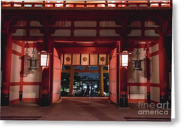 Fushimi Inari Taisha, Kyoto Japan 2 Greeting Card
