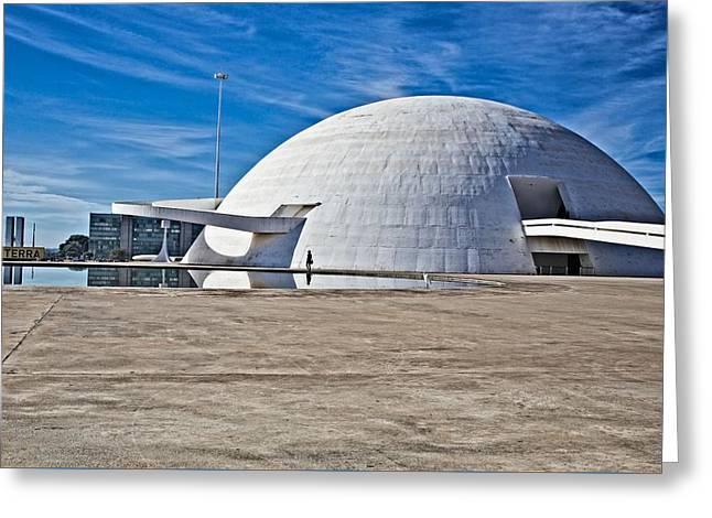 Greeting Card featuring the photograph Future Dome by Kim Wilson