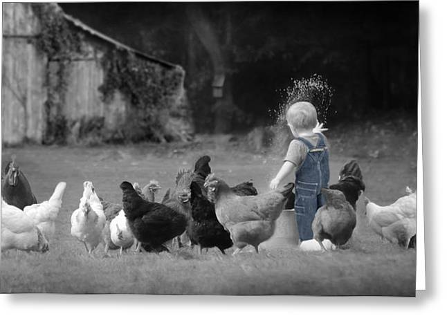 Future Farmer Greeting Card by Lori Deiter