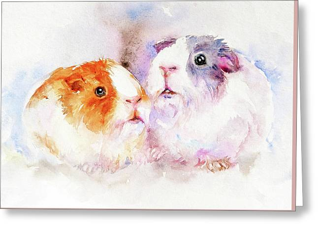 Fuzzy Buddies Greeting Card