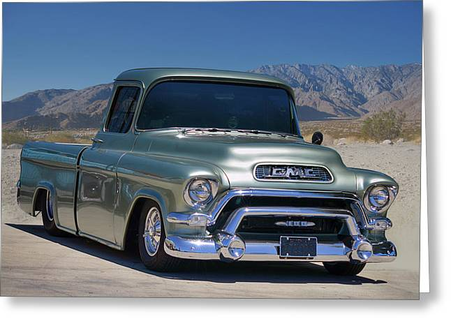 Greeting Card featuring the photograph G M C Pickup by Bill Dutting