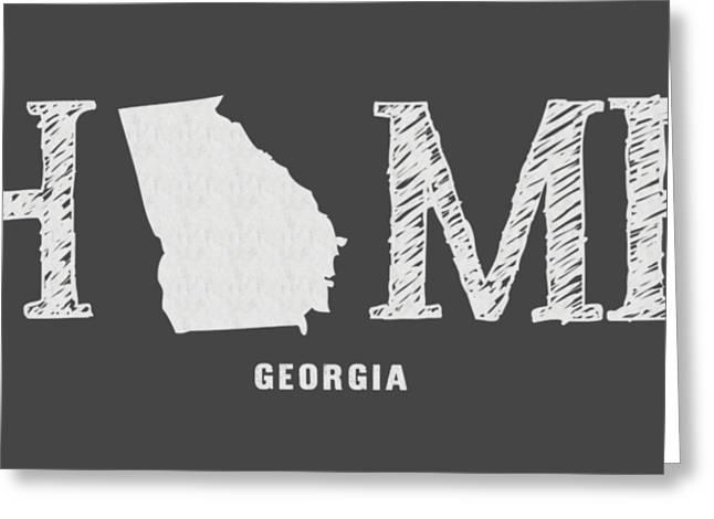 Ga Home Greeting Card