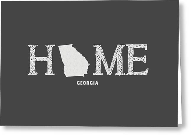 Ga Home Greeting Card