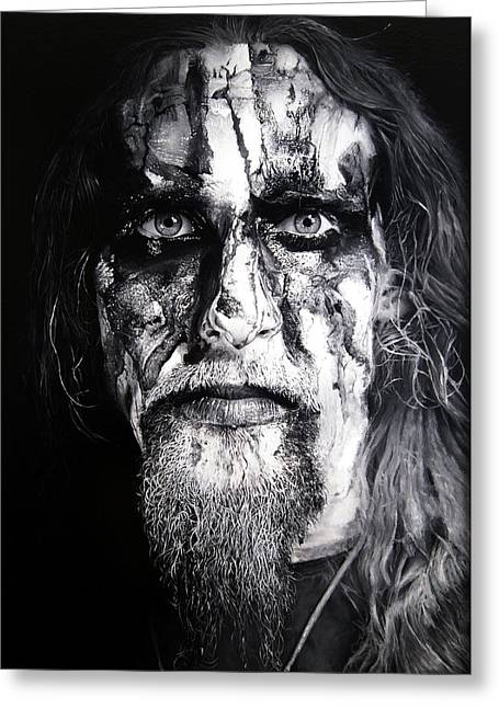 Gaahl Greeting Card