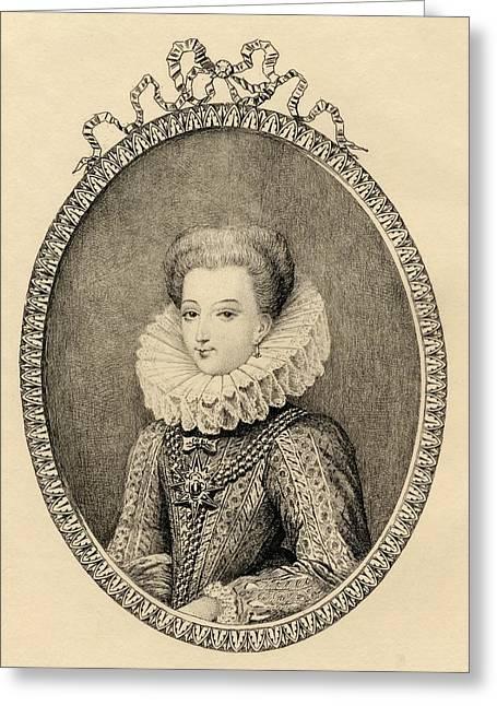 Gabrielle D Estrees, Duchess Of Greeting Card