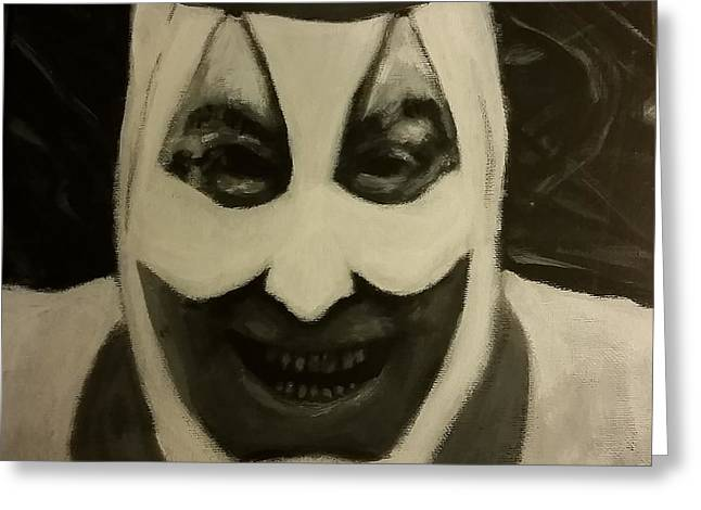 Gacy The Clown  Greeting Card by Cody Gotts