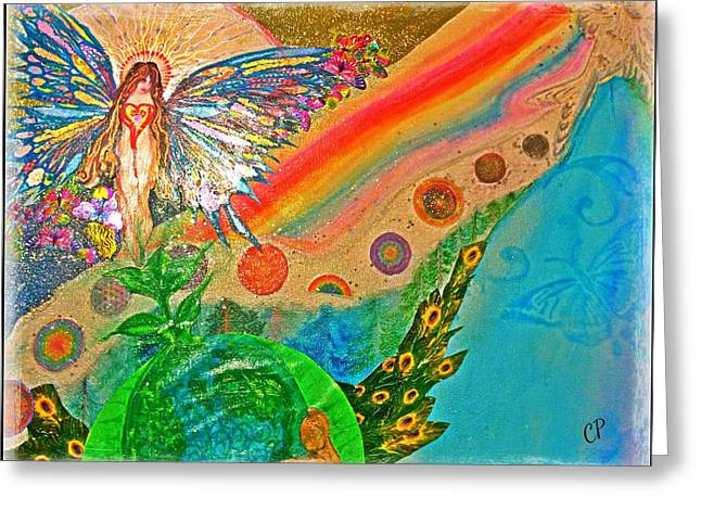 Gaia Greeting Card