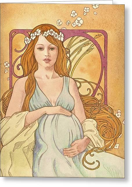 Gaia Reverie Greeting Card
